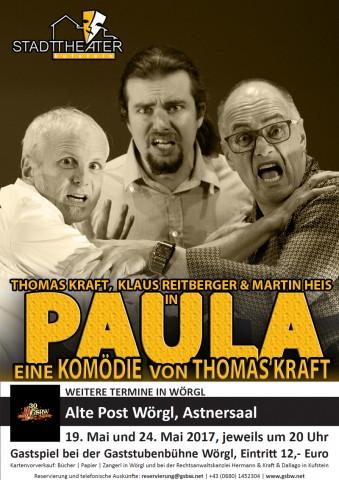 Gastspiel PAULA Wörgl (Thomas Kraft)