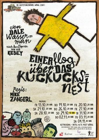 Einer Flog über das Kuckusnest von Dale Wassermann (Regie: Michael Zangerl)
