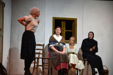 Talentierten Theaternachwuchs präsentierte die Gaststubenbühne Wörgl mit Christina Sieberer und Emma Chmela-Heiss.